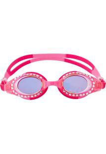 Óculos De Natação Stephen Joseph Com Brilho Pink