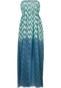 Tara Matthews Vestido 'Capo' - Azul