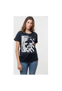 Camiseta Jay Jay Básica Unreal Preta