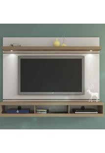 Painel Para Tv Até 60 Polegadas Evolution Off White/Pinho- Artely