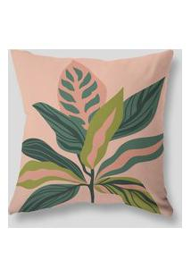 Amaro Feminino Design Up Living Capa De Almofada Tropical 42X42, Rosa