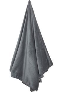 Cobertor Solteiro Loft Cinza (150X220Cm)