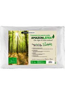 Travesseiro Amazon Látex Médio - Fibrasca - Bege