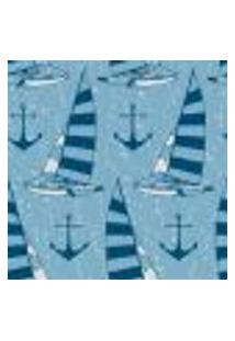 Papel De Parede Autocolante Rolo 0,58 X 5M - Barcos Ancora Mar 287585255