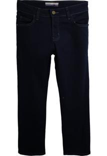 Calça Jeans Colcci Fun Menino Lisa Azul-Marinho