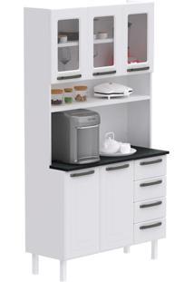 Cozinha Compacta Titanium I 5 Pt 4 Gv Branca