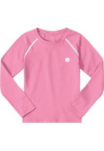 Camiseta Manga Longa Infantil Marisol Feminina - Feminino