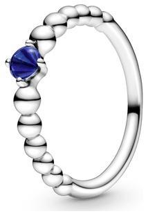 Anel Esferas Azul Marinho - Mês De Setembro