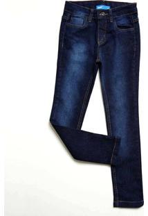 Calça Infantil Jeans Bolsos Mr