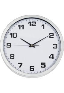 Relógio De Parede Hauskraft White