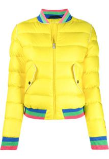 Perfect Moment Jaqueta Bomber - Amarelo