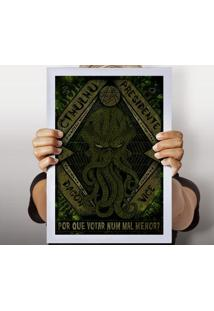 Poster Cthulhu Presidente