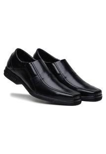 Sapato Social Masculino Em Couro Premium Preto