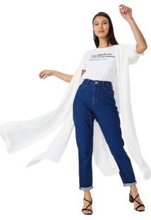 Camisa Alongada Viscose