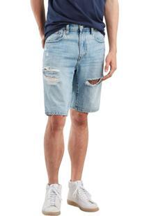 Bermuda Jeans Levis 502 Taper Hemmed - 32