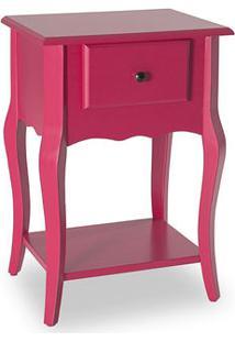 Mesa Lateral Status Rubi Rosa Pink 3028Rp
