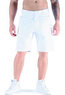 Bermuda De Sarja Shatark Basic - Branco