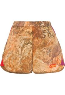 Heron Preston Short Camuflado - Neutro