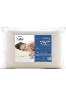 Travesseiro Visco Tradicional Alto- Off White- 16X68Altenburg