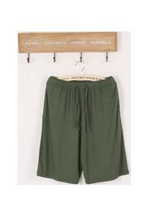 Bermuda Masculina Basic - Verde