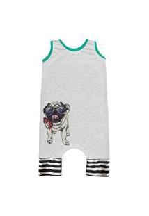 Pijama Regata Comfy Pug