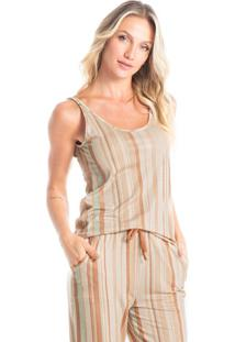 Pijama Capri Estampado Fernanda