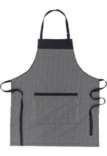 Avental Copa & Cia Home Chef Preto 85X70Cm - 29386