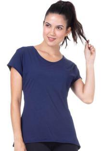 Camiseta Baby Look Marinho | 598.822