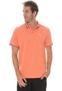 Camisa Timberland Polo Rib Masculina - Masculino-Laranja b72bd693fbf6e