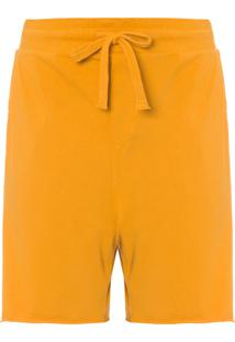 Bermuda Masculina Casual Color - Amarelo