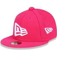 c2df5ea9e19f4 Boné New Era 950 New Era Brasil Aba Reta Pink
