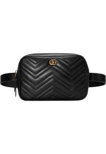 810cb2ca1 Gucci Pochete 'Gg Marmont' Matelassê - Preto