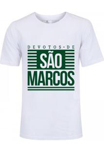 Camiseta Zé Carretilha Palmeiras - Devotos - Masculino - Branco - G - Unissex