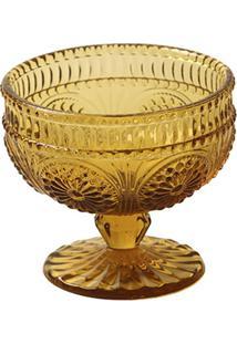 Taça Sobremesa Rome Âmbar