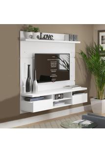 Painel Para Tv Até 55 Polegadas 2 Portas 160 Cm Bolt Branco - Madesa