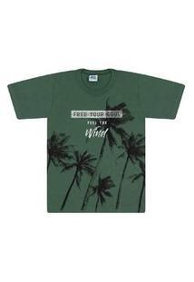 Camisa Bicho Bagunca Meia Malha Gola Redonda - 6090