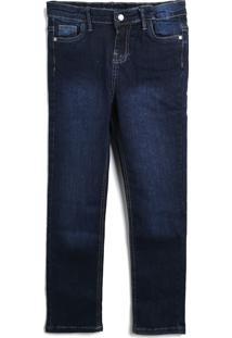 Calça Jeans Jeans Tip Top Infantil Reta Azul