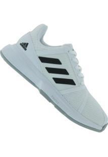 Tênis Adidas Courtjam Bounce - Feminino - Branco/Preto
