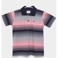 3f75f73cfb Camisa Polo Infantil Up Baby Listrada Masculina - Masculino