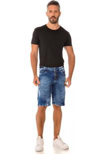 Bermuda Jeans Express Jean Azul - Azul - Masculino - Dafiti
