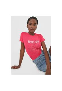 Camiseta Aeropostale Heaven Sent Rosa