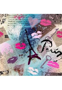 Papel De Parede Adesivo Kiss Paris