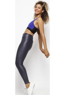 Legging Training Lisa Com Flowâ® - Azul Escurofila