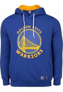 Casaco Moletom Golden State Warriors Canguru Logo - Nba - Kanui