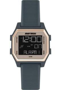 Relógio Digital Mormaii Luau Feminino - Feminino-Cinza