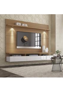 Painel Para Tv 60 Polegadas Horizon Natural E Off White 181 Cm