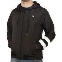 d42853c79f150 Jaqueta Windbreaker Block Party Hurley - Masculino-Preto