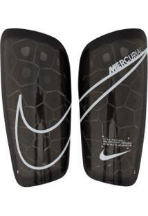 Caneleira De Futebol Nike Mercurial Lite Grid - Adulto - Preto