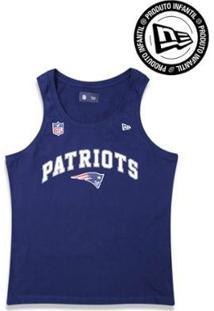 Regata Infantil New England Patriots Nfl New Era Masculino - Masculino
