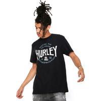 Camisetas Esportivas Hurley Preta  300e2f401f1